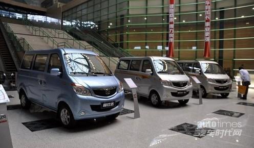 售价3.68 4.58万元 海马福仕达腾达上市高清图片