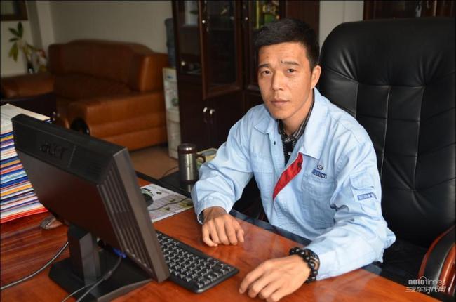 专访广东福迪汽车营销分公司总经理 何青高清图片