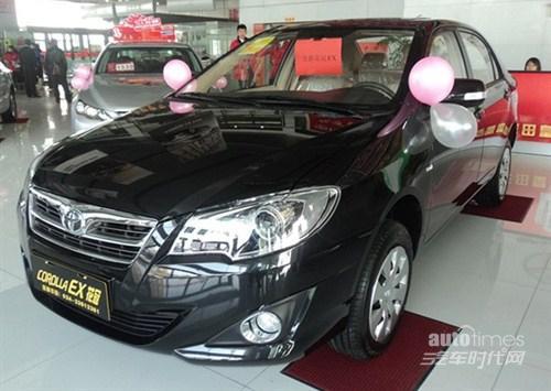 一汽丰田2012款花冠抢先上市接受预定