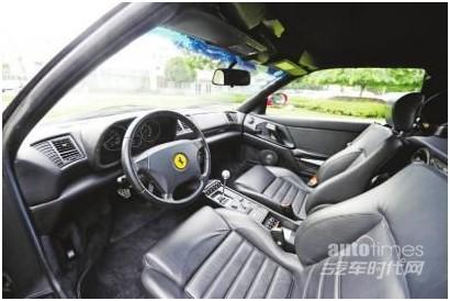 法拉利跑车内部   可以说,正是这台红色法拉利F355,第一次...