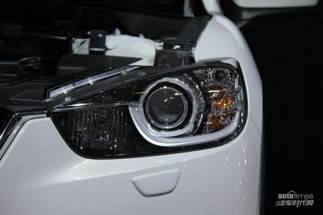 内装方面,长安马自达cx-5整体内饰布局同样与进口版车型保高清图片