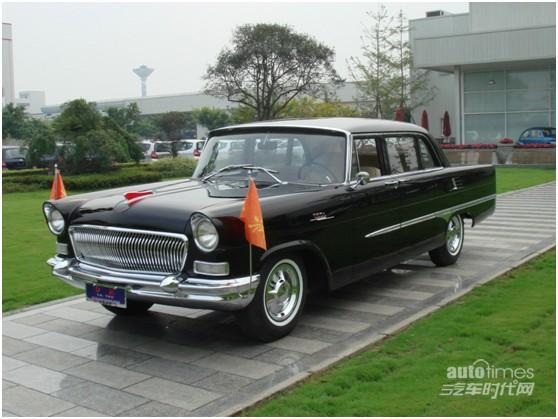 老爷车参加世界老式汽车中国巡礼高清图片