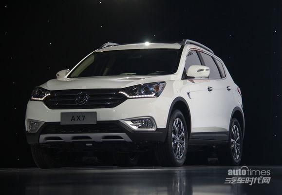 东风汽车风神首款SUV定名AX7 配置丰富高清图片