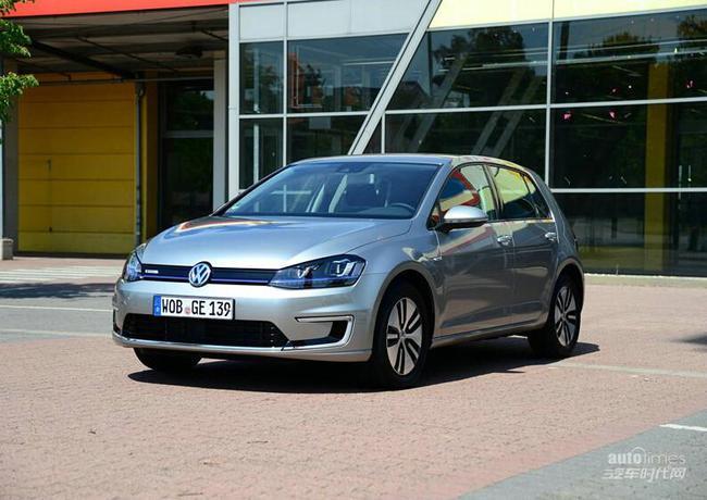 ● 新车特点   高尔夫电动版整体造型与普通版高尔夫基本一高清图片