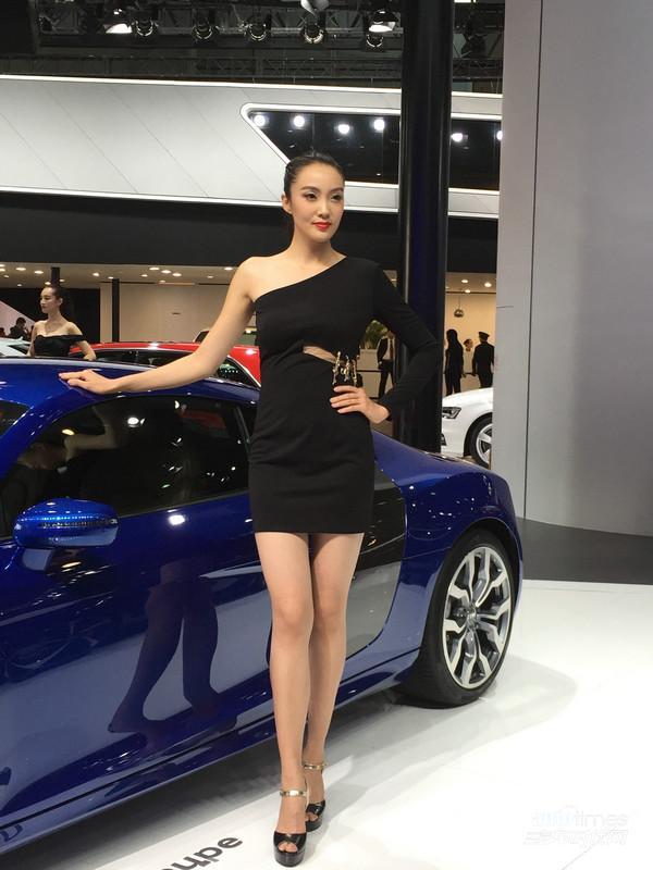 广州车展 奥迪车模