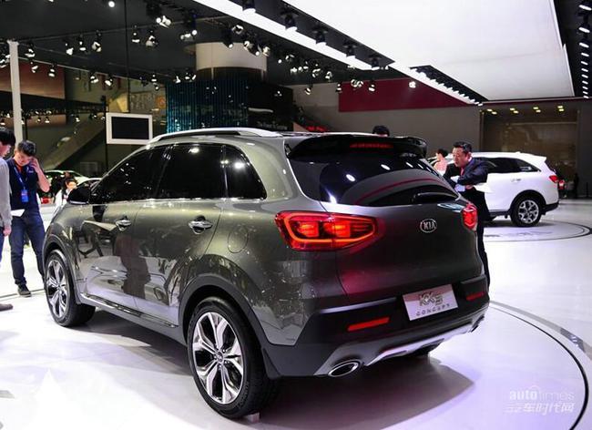 东风悦达起亚将推出全新小型SUV车型KX3高清图片