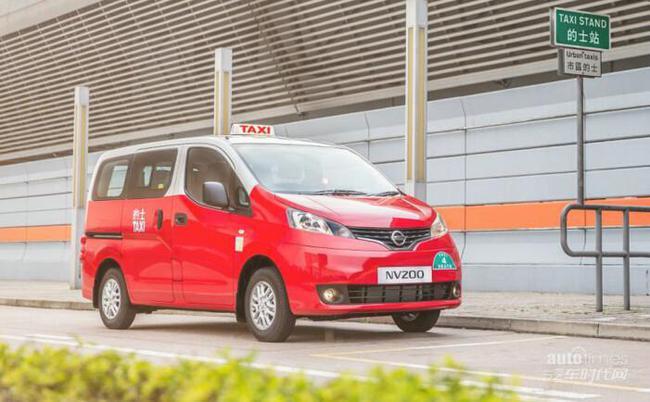 日产汽车在香港推出NISSAN NV200出租车高清图片