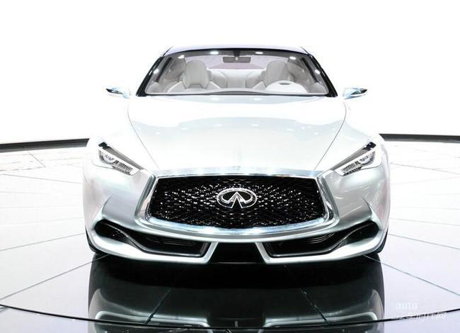 英菲尼迪新q60敞篷版 沿用q60概念车设计高清图片