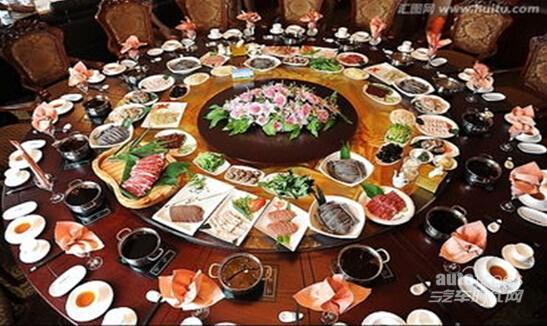 团购会 华晨中华直销会 史上最强年夜饭高清图片