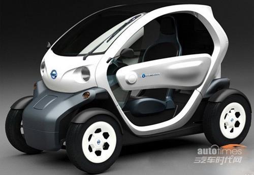 电动汽车前底盘结构图解