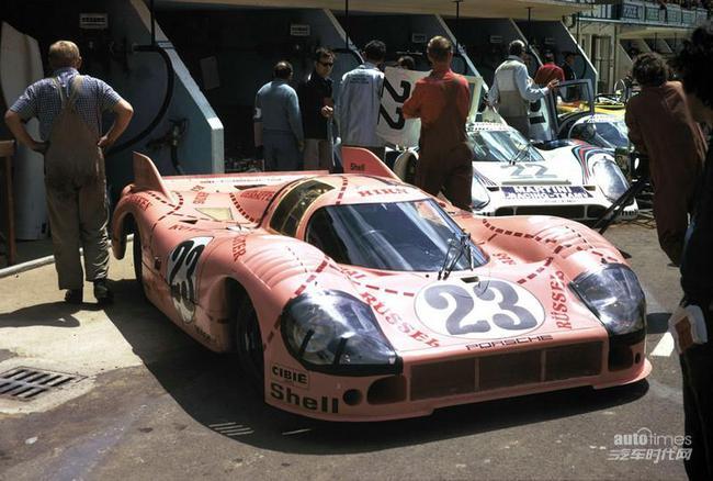 Porsche 91720 Die Sau, Le Mans 1971