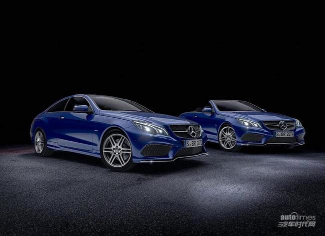 其中v8特别版套件仅针对奔驰e 500 coupe和奔驰e 500 敞高清图片