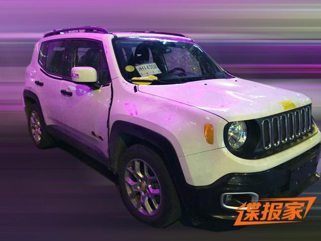 曝国产jeep自由侠实车照 基本原汁原味