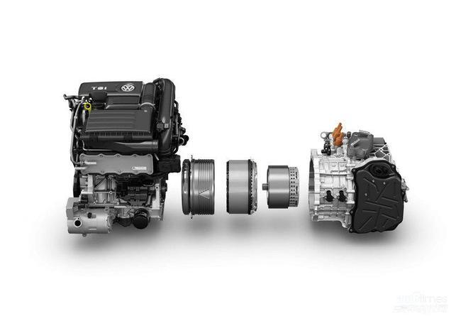 4tsi发动机+电动机+双离合变速器)