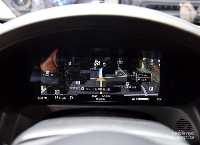 捷豹车灯控制电路图