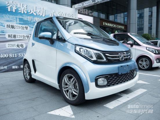 众泰新能源汽车e200拥抱电力新时代